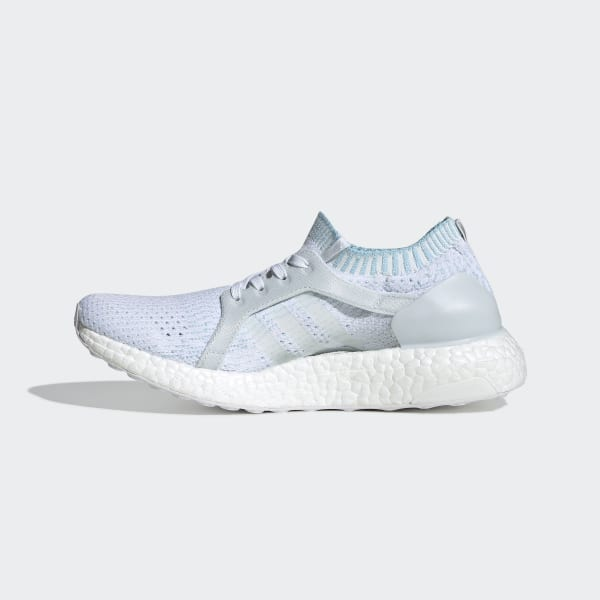 416fc1cf6cbf5 Ultraboost X Parley Shoes Icey Blue   Cloud White   Icey Blue BY2707