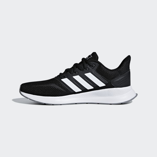 a81af60ff8a Runfalcon Shoes Core Black   Cloud White   Grey F36218