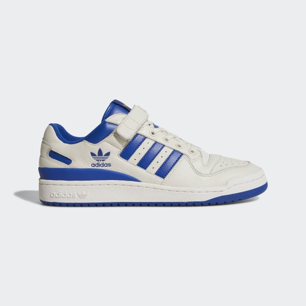 on sale 1f18b a3584 Tenis Forum Low CHALK WHITE COLLEGIATE ROYAL GOLD MET. BY3649