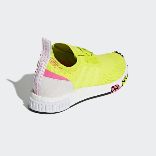 cb15a7316 NMD Racer Primeknit Shoes Semi Solar Yellow   Semi Solar Yellow   Cloud  White AQ1137
