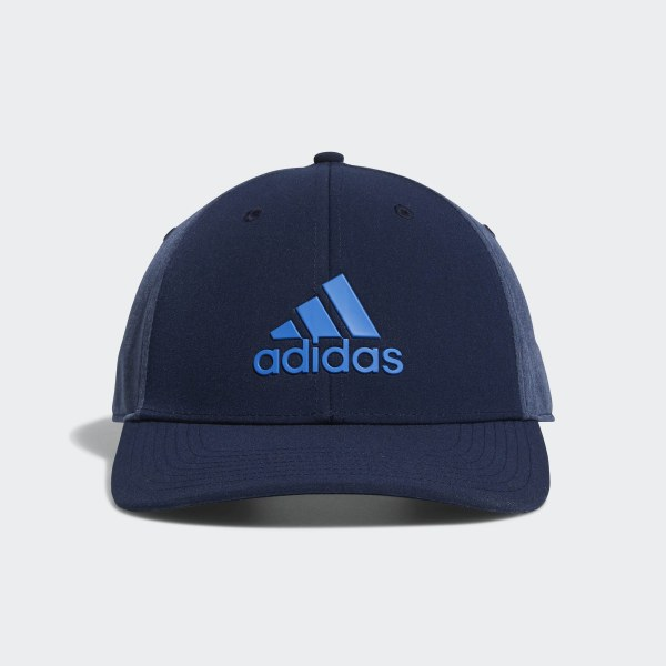 adidas A-Stretch adidas Badge of Sport Tour Hat - Blue  4f5378eea878