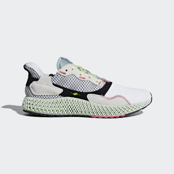 los angeles 66864 bbec4 ZX 4000 4D Schuh Ftwr White  Grey Two  Linen Green B42203