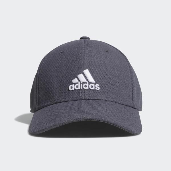 adidas Rucker Stretch Fit Hat - Grey  cf1266a1930d
