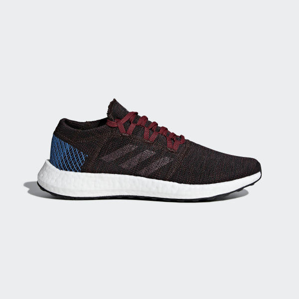 843be25a93cea Pureboost Go Shoes Night Red   Noble Maroon   Bright Blue AH2326