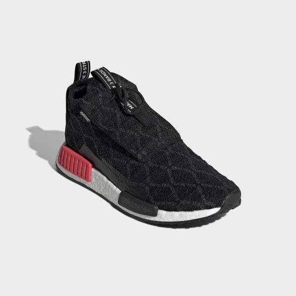 3c7ce2c4e30fe NMD TS1 Primeknit GTX Shoes Core Black   Carbon   Shock Red BD8078