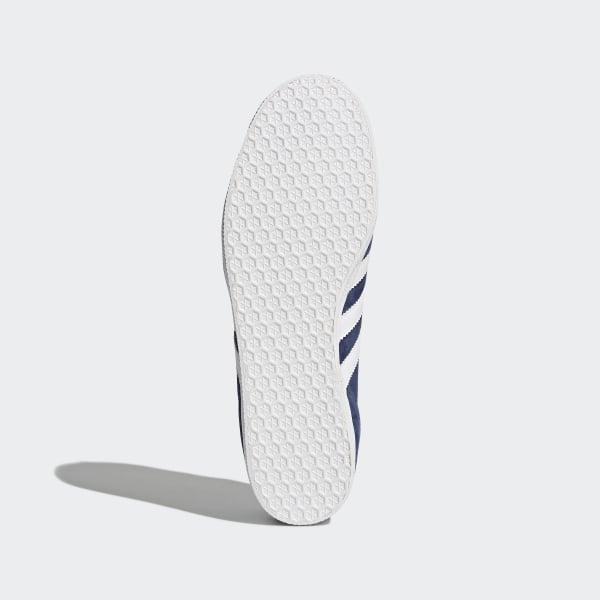half off 6706c 44bb6 Gazelle Shoes Collegiate NavyWhiteGold Metallic BB5478