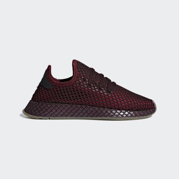 check out b49cb 8f495 Deerupt Runner Shoes Collegiate Burgundy  Collegiate Burgundy  Ash Green  B41875