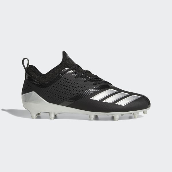 online store a42ca b6e8d Adizero 5-Star 7.0 Lax Low Cleats Core Black  Silver Metallic  Core Black