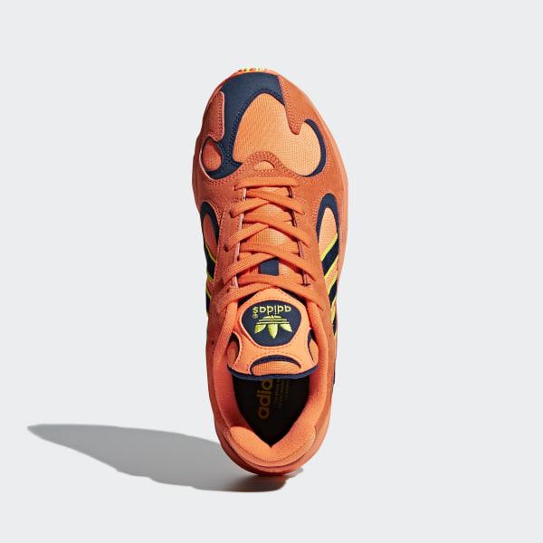 5454f178e981 Yung 1 Shoes Hi-Res Orange   Hi-Res Orange   Shock Yellow B37613