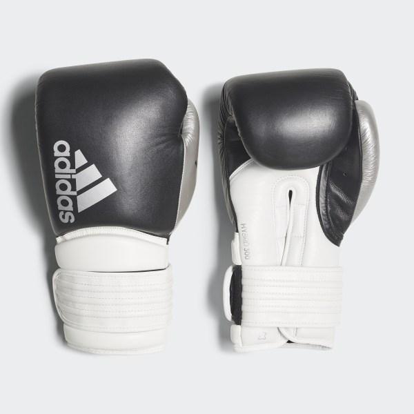 on sale e1bb7 5ca01 Guantoni da boxe Hybrid 300 Black   White   Shiny Silver CI9186