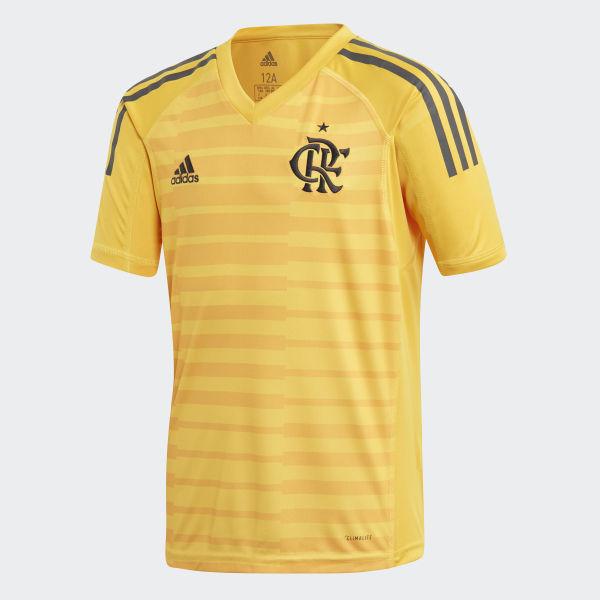 2201dcf906bff Camisa CR Flamengo 1 Goleiro BOLD GOLD CARBON S18 CF3465