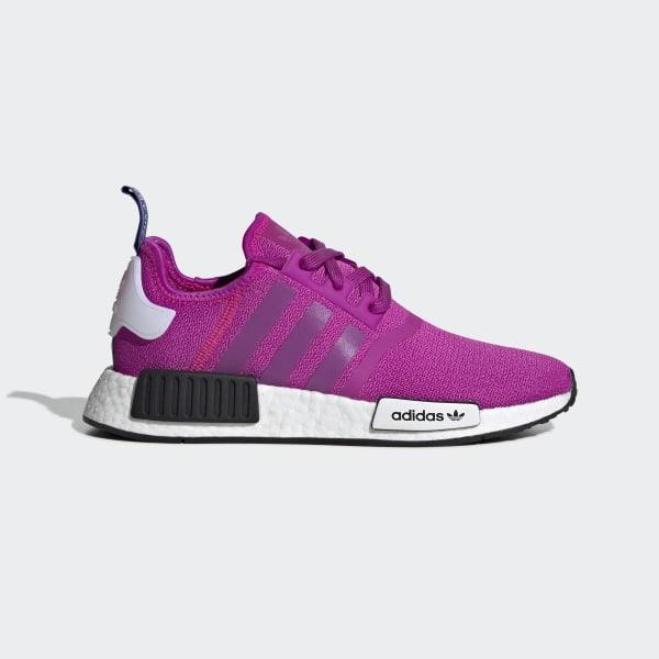 58c5dc410c5f NMD R1 Shoes Vivid Pink   Vivid Pink   Shock Pink BD8027