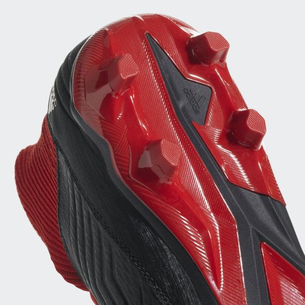 Botines PREDATOR 18.3 FG CORE BLACK FTWR WHITE RED DB2001 cc0025879ec20