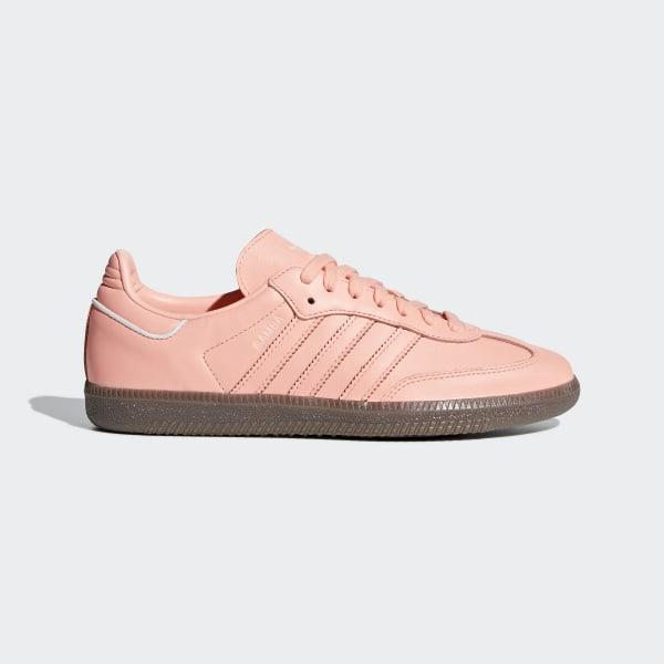 80414bccd5d075 Samba OG Shoes Clear Orange   Clear Orange   Ftwr White B44691