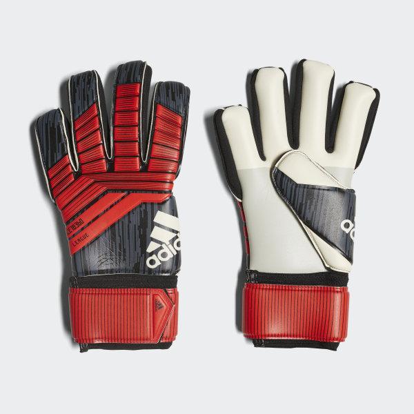 Predator League Gloves Black   Red   White CW5594 7687cc91246