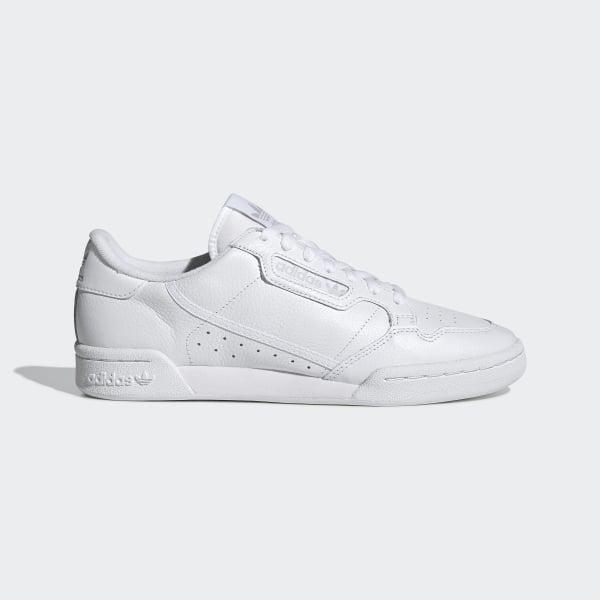 quality design 8625c 1a31b Sapatos Continental 80 Ftwr White  Ftwr White  Grey One CG7120