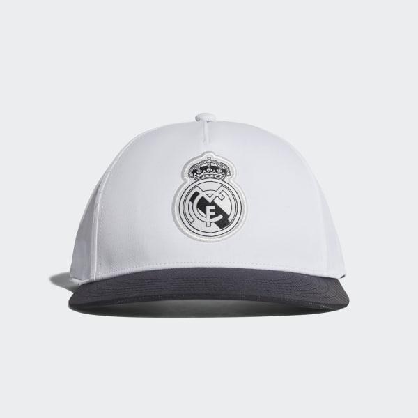1ba4b7d028829 Gorra Real Madrid CORE WHITE BLACK CY5609