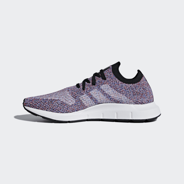 81b551652 Swift Run Primeknit Shoes Purple   Hi-Res Red   Ftwr White   Core Black