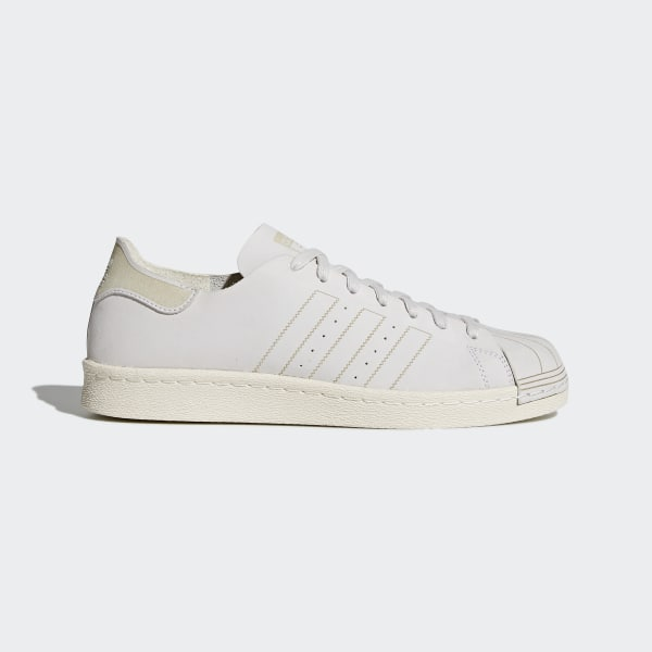 Superstar 80s Decon Schuh Ftwr White/Ftwr White/Brown CQ2210