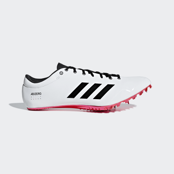 buy popular 05218 78d05 Zapatilla de clavos Adizero Prime Sprint Ftwr White  Core Black  Shock  Red B37494
