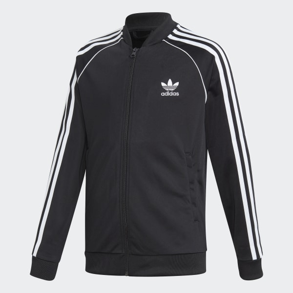 adidas jacket black white