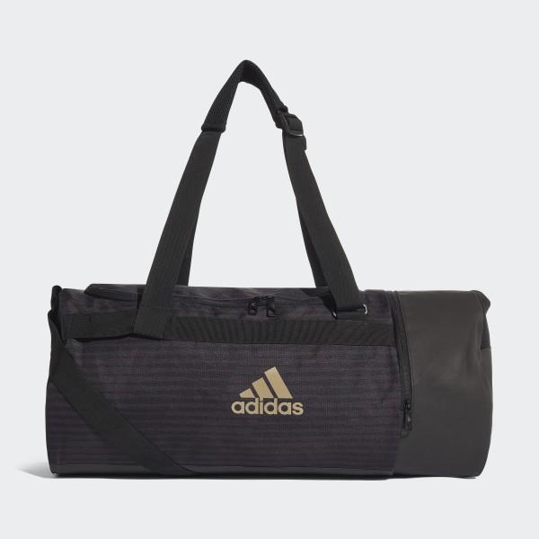 6daa9052a1 Football Street Duffel Bag Black Raw Gold CF3334