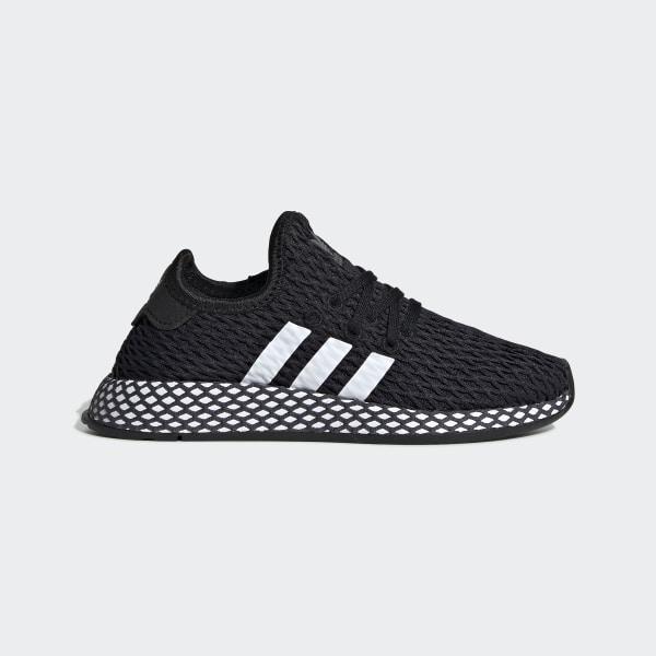 f6b6fb14d Deerupt Runner Shoes Core Black   Ftwr White   Grey Five CG6850