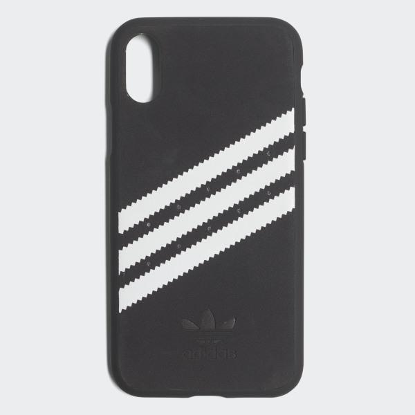 77b4952b2ecd Moulded Case iPhone X Suede Black   White CJ1290