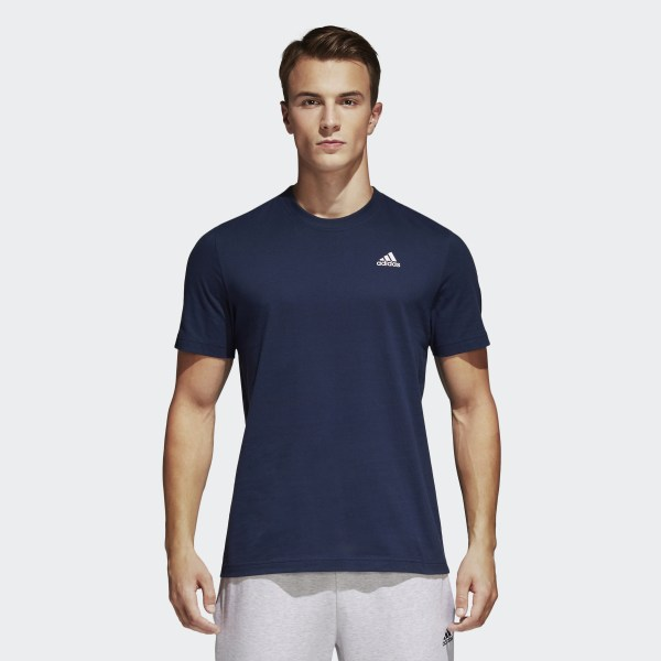 184587bf07 Camiseta Essentials Base Collegiate Navy White S98743
