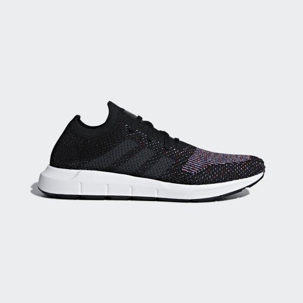 e09dd7617a519 Swift Run Primeknit Shoes Core Black   Grey   Medium Grey Heather CQ2894