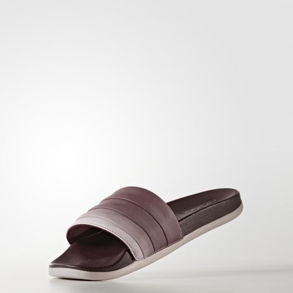 online retailer e8136 6265c adilette Cloudfoam Ultra Armad Slides Maroon  Ice Purple  Collegiate Navy  S75824