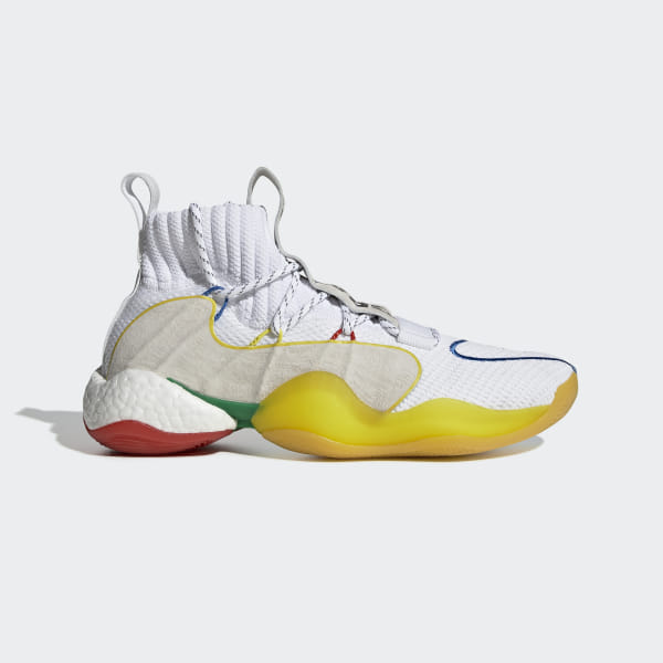 2fc8c177c1654 Pharrell Williams Crazy BYW LVL X Shoes Cloud White   Black   Black EF3500