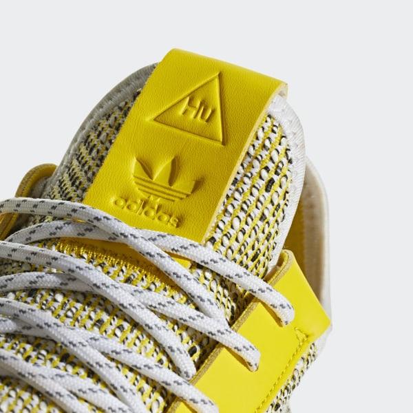f5da65210937 Pharrell Williams SOLARHU Tennis V2 Shoes Yellow   Cloud White   Core Black  BB9543