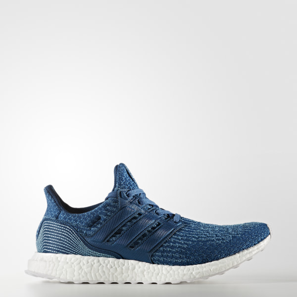 bc17d88cff93a Ultraboost Parley Shoes Blue Night   Core Blue   Blue BB4762