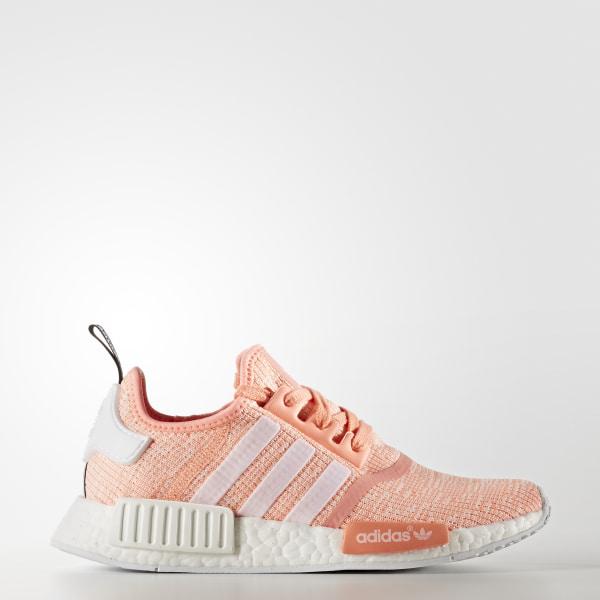 uk availability 84ce1 975bb Zapatilla NMD R1 Sun Glow Footwear White Haze Coral BY3034