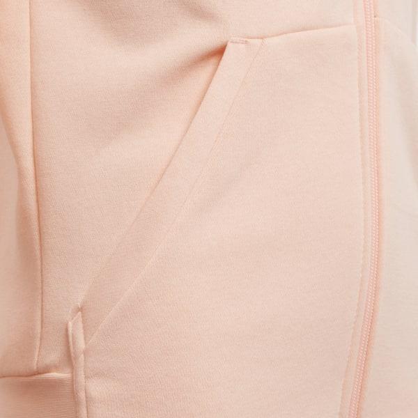 adidas Essentials 3-Stripes Mid Hoodie - Pink   adidas Finland fece120bc3