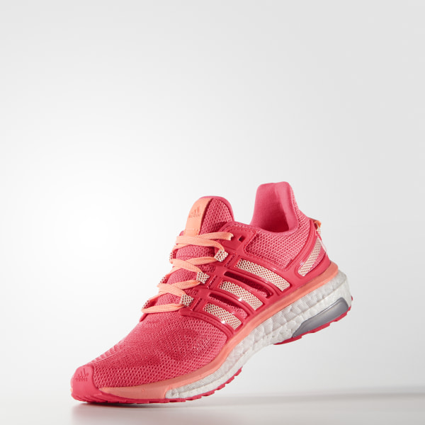 new style 3d197 5cae9 Energy Boost 3 Shoes Sun Glow  Halo Pink  Shock Red AF4935