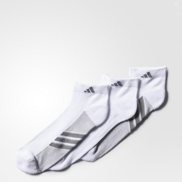 Climacool Superlite Low-Cut Socks 3 Prs White   Light Onix   Medium Lead  H77440 14f596e529