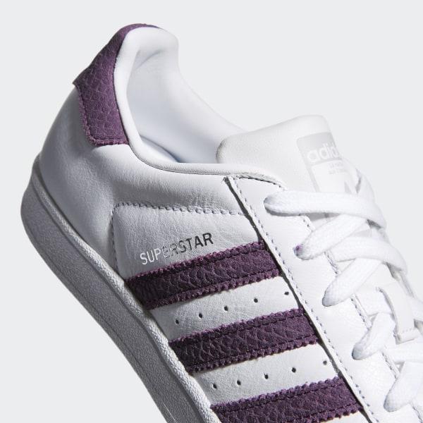 premium selection d9252 e32b3 Superstar Shoes Cloud White   Red Night   Silver Metallic B41510