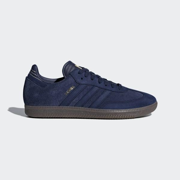 a80a42c8aa6 adidas Samba FB Shoes - Blue