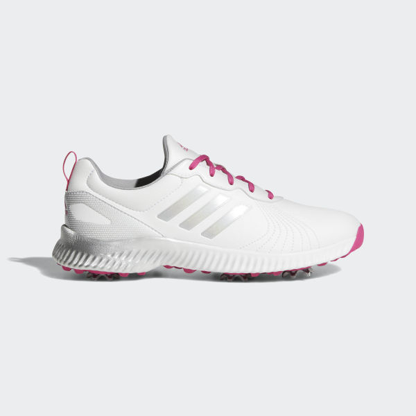 9a15eefbb Response Bounce Shoes Cloud White   Real Magenta   Silver Metallic AC8283
