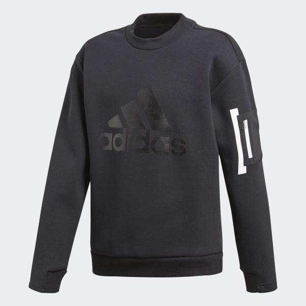 ID Spacer Sweatshirt Black   White DV1666 4b6b624c8dd
