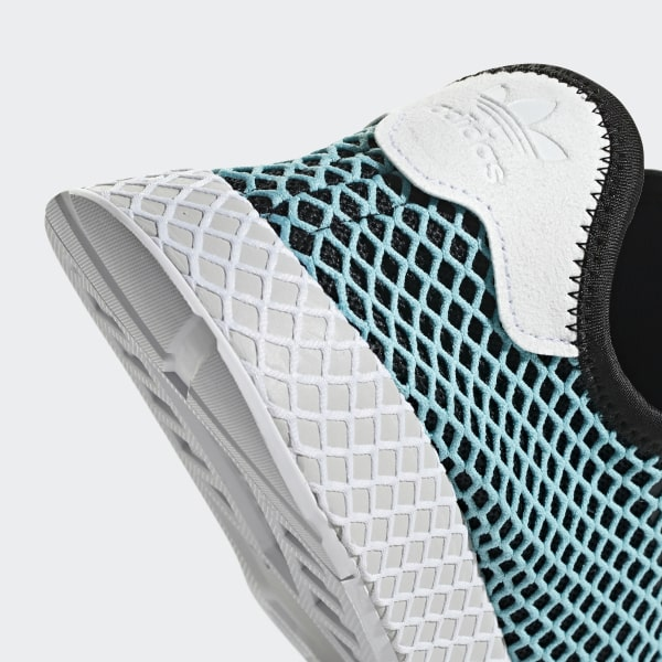 on sale 6b696 99603 Deerupt Runner Parley Shoes TurquoiseCore BlackBlue Spirit CQ2623