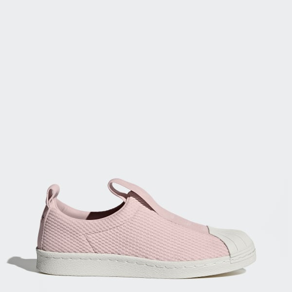 682613502 Sapatos Superstar BW Slip-on Icey Pink   Icey Pink   Off White BY9138