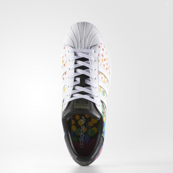 hot sales 6a92c 84f2f Pride Pack Superstar Shoes Cloud White   Core Black   Core Black CM7802