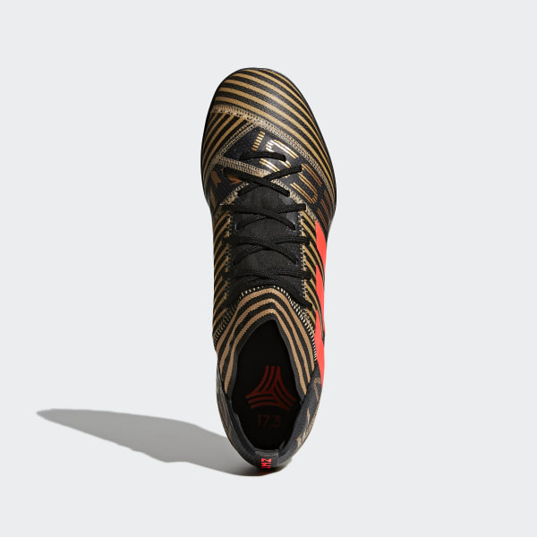 Botines de fútbol Nemeziz Messi Tango 17.3 Césped Artificial CORE  BLACK SOLAR RED TACTILE 14766d4c9ce37