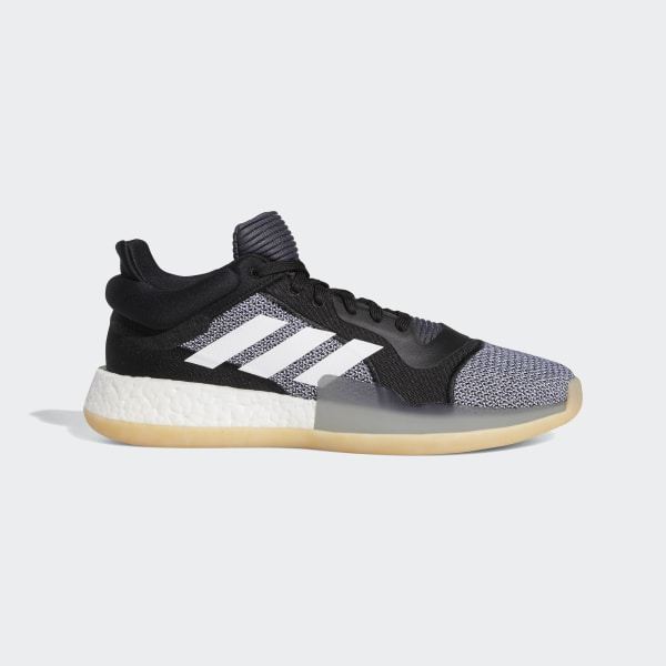 9164dd1388a Sapatos Marquee Boost Low Core Black   Ftwr White   Shock Cyan D96932