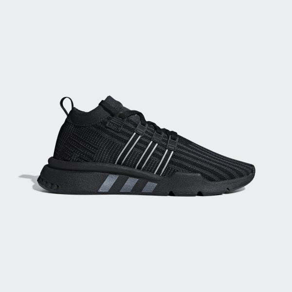 uk availability 1f485 f59a7 EQT Support Mid ADV Primeknit Shoes Core Black  Carbon  Solar Yellow  B37456