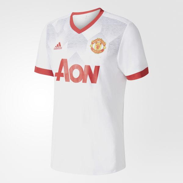99ddf197e29c7 Jersey Local Prepartido Manchester United WHITE REAL RED BP9205