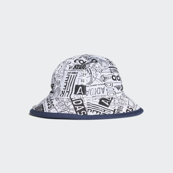 4ed37bf3eaa Bucket Hat Blue   Shock Cyan   White DW4774